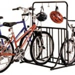 Black Combo Pack-6 Bike Rack